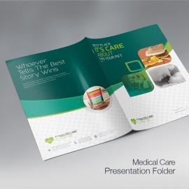 Medical & Health Care Presentation Folder