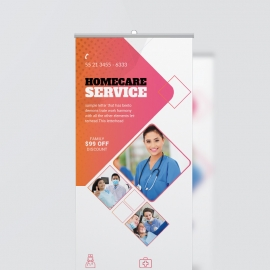 Medical & Health Care Rollup Banner