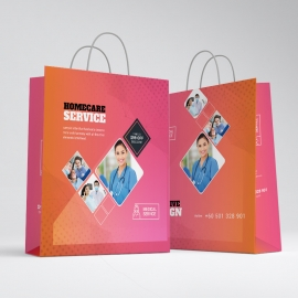 Medical & Health Care Shopping Bag