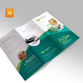 Medical & Health Care Trifold Brochure