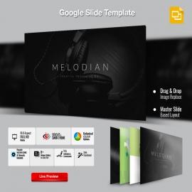 Melodian Google Slide Presentation Template