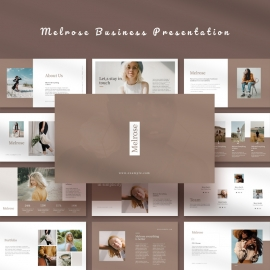 Melrose Business Powerpoint Template