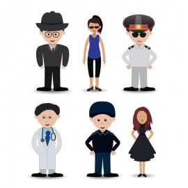 Men and Women Character Vector