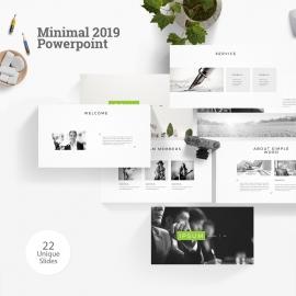 Minimal 2019 Powerpoint Template