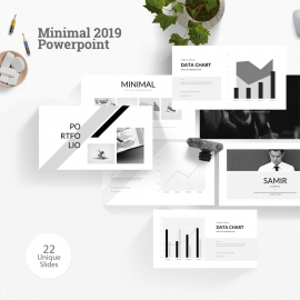 Minimal 2019 Powerpoint Template