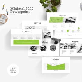 Minimal 2020 Powerpoint Template