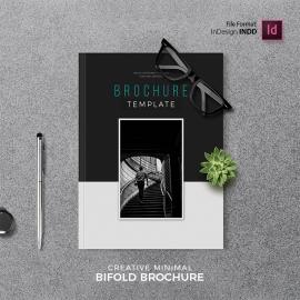 Minimal Bifold Brochure Template