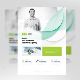 Minimal Business Clean Flyer