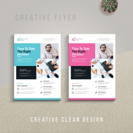 Minimal Business Flyer