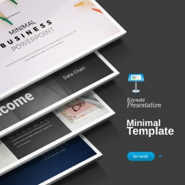 Minimal Business Keynote Presentation Template