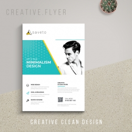 Minimal Clean Business Flyer