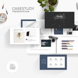 Minimal Clean CaseStudy PowerPoint Presentation