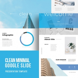 Minimal Clean Google Slide Template