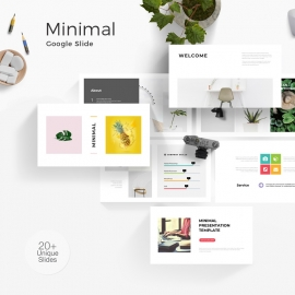 Minimal Clean Google Slide Template 2