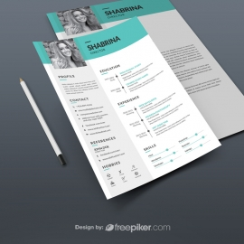 Minimal Clean Resume Design