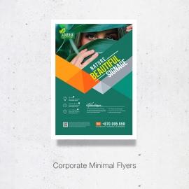 Minimal Corporate Flyer Design