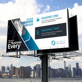 Minimal Creative Billboard Signage
