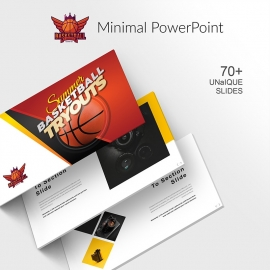 Minimal Creative Business PowerPoint Presentation Template Free Download