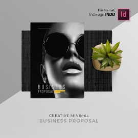 Minimal Creative Business Proposal Template