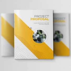 Minimal Creative Clean Project Proposal