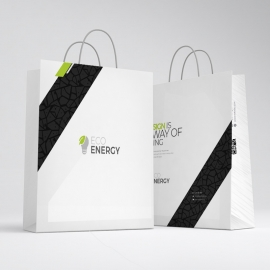 Minimal Creative Clean Shopping Bag