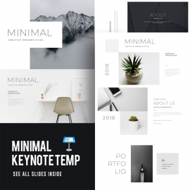 Minimal Creative Keynote Template