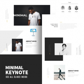 Minimal Creative Keynote Template 2