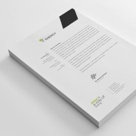 Minimal Creative Letterhead Design