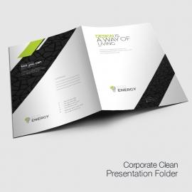 Minimal Creative  Presentation Folder