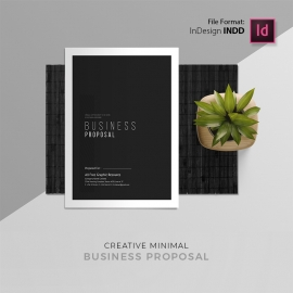 Minimal Creative Proposal Template