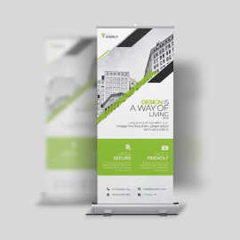 Minimal Creative Rollup Banner