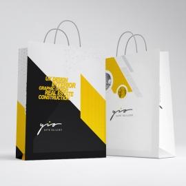 Minimal Creative Shopping Bag