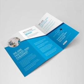 Minimal Creative Trifold Brochure