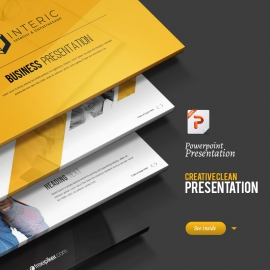 Minimal Creative Yellow Powerpoint Presentation