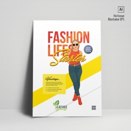 Minimal Fashion Flyer & Poster