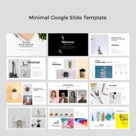 Minimal Google Slide Presentation Template