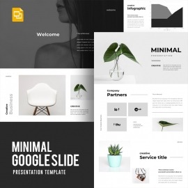 Minimal Google Slide Template