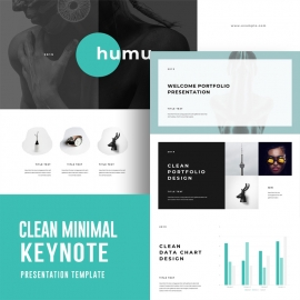 Minimal Humu Keynote Template
