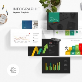 Minimal Infographic Keynote Template