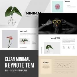 Minimal Keynote Presentation Template