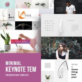 Minimal Keynote Template