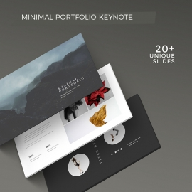 Minimal Portfolio Keynote Template