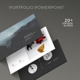 Minimal Portfolio Presentation Template