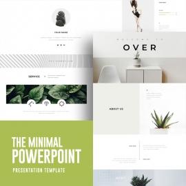 Minimal Powerpoint Presentation
