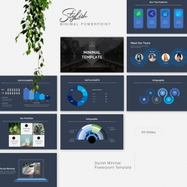 Minimal Powerpoint PresentationTemplate