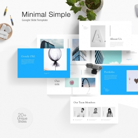 Minimal Simple Google Slide Template