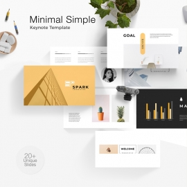 Minimal Simple Keynote Template