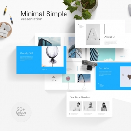 Minimal Simple Powerpoint Template