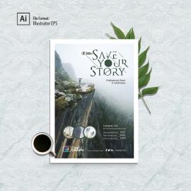 Minimalism Poster & Flyer Design