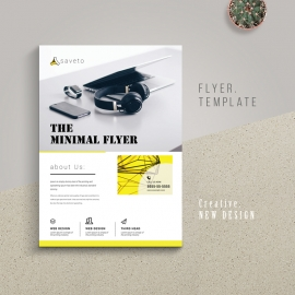 Minimalist Business Flyer
